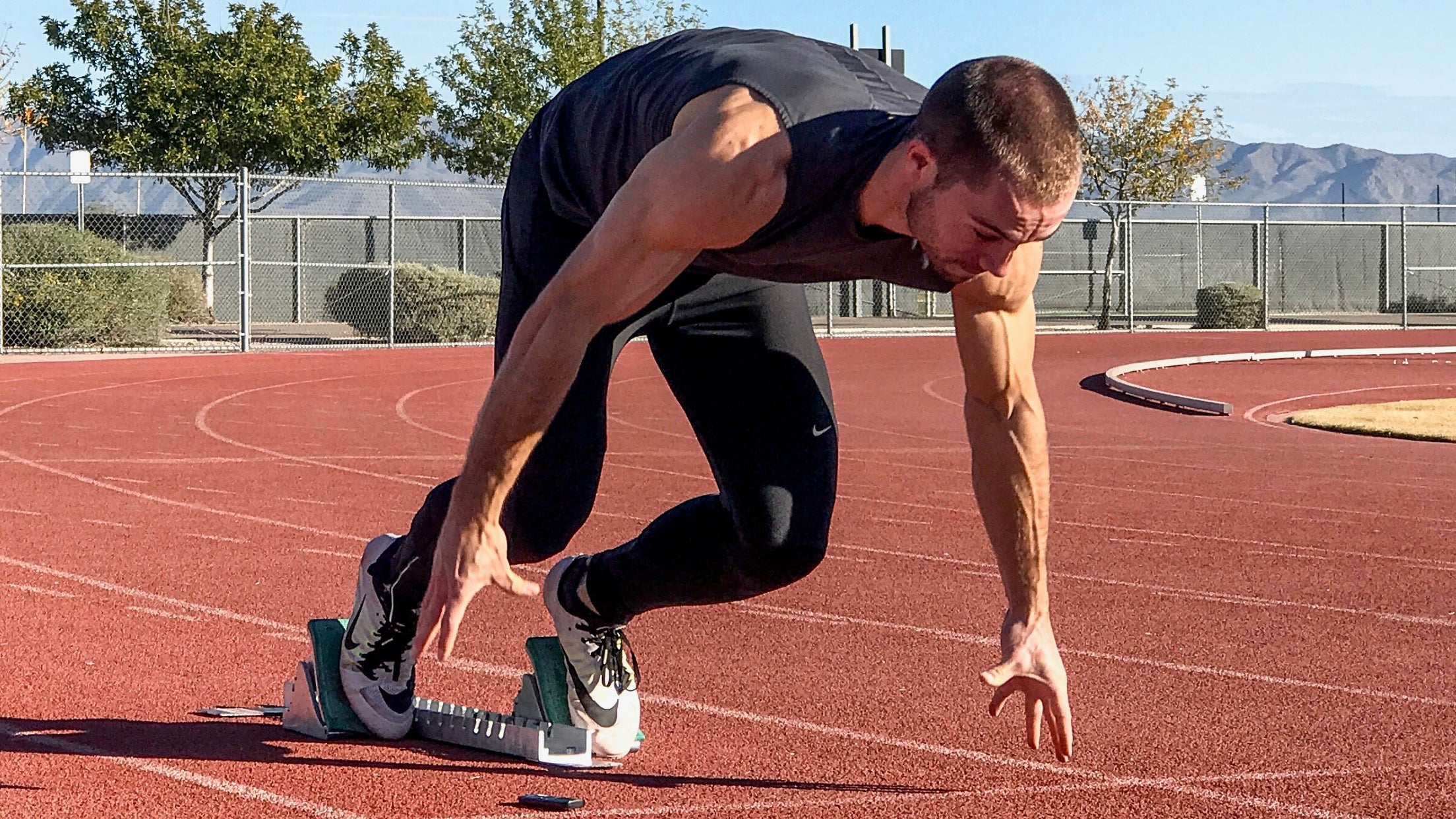 acceleration training for sprinters