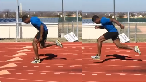 mike rogers acceleration sprinting