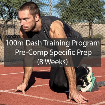 100m Dash Sprint Training Program - 8 Week SPP - ATHLETE.X 2019 ATHLETE.X