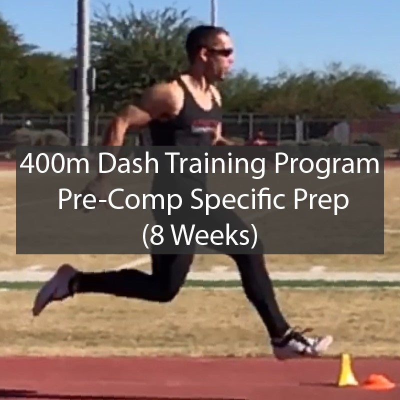 400m Dash Sprint Training Program - 8 Week SPP - ATHLETE.X 2019 ATHLETE.X