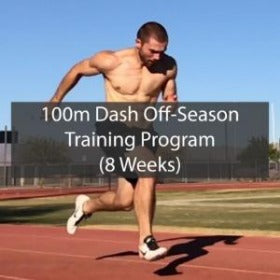8 Week Off Season 100m Dash Training Program ATHLETE.X