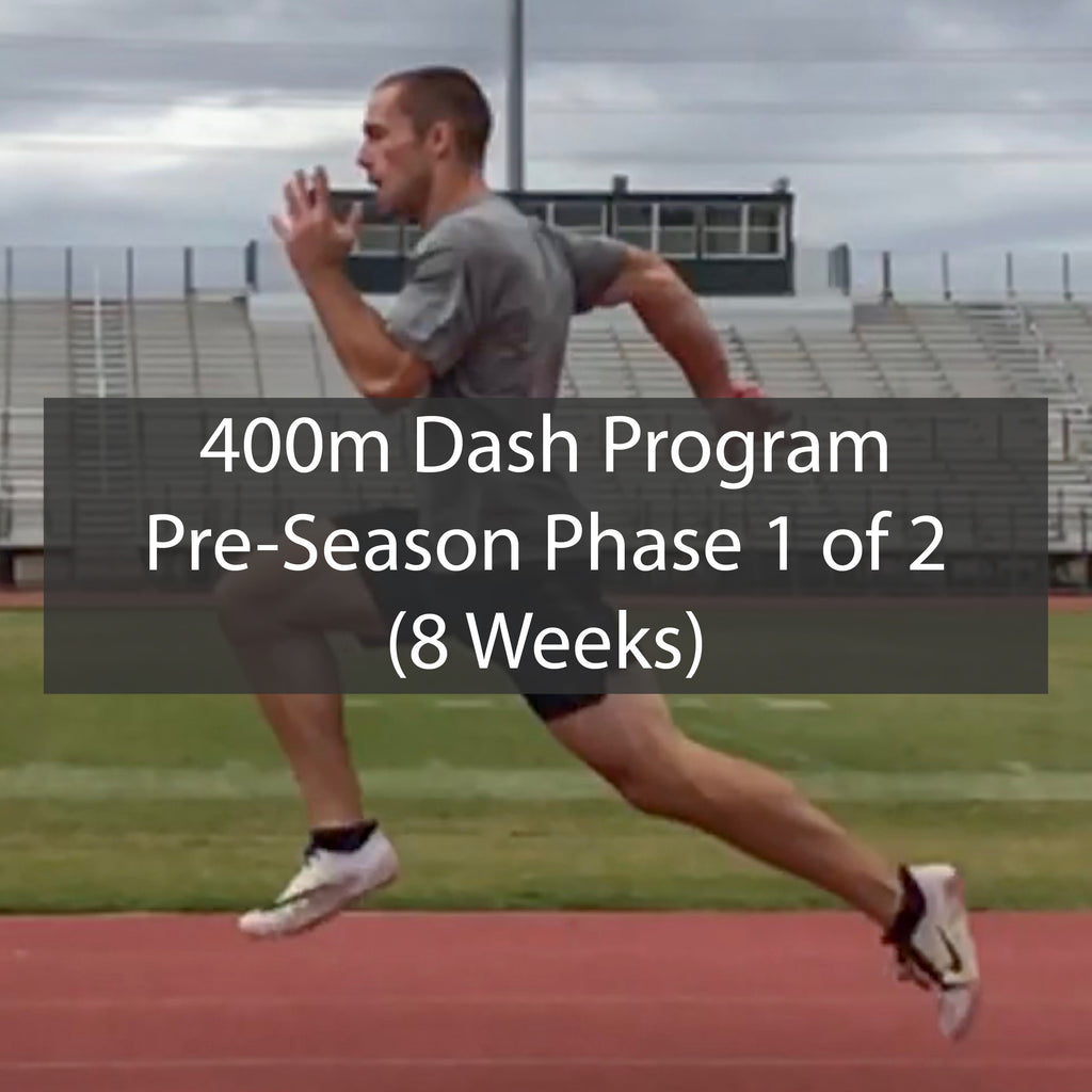 PRE-SEASON 400m Dash Training Program - Phase 1 of 2 ATHLETE.X