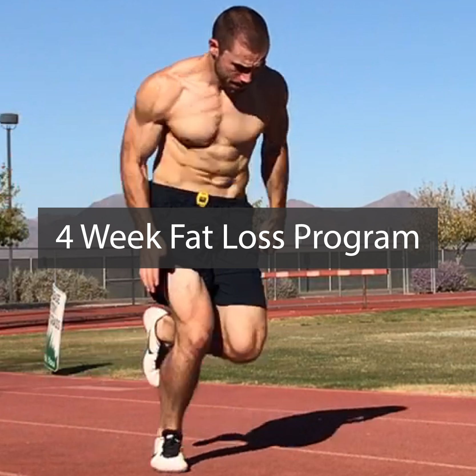 Sprinting For Fat Loss - Weight Loss Program