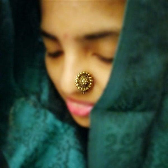 Gold Plated Round Nose Pin