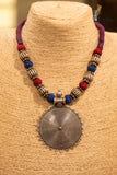 Round pendant Neck piece