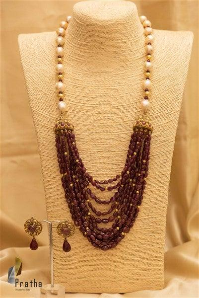 Jhumka Neck piece
