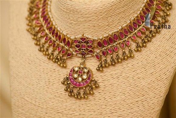 Traditional kundan Neckpiece