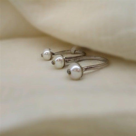 Two Finger ring in Fresh water pearls