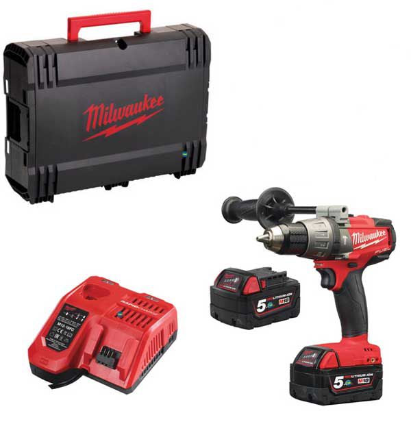 MILWAUKEE BRUSHLESS PERCUSSION COMBI Drill (M18FPD-502X)