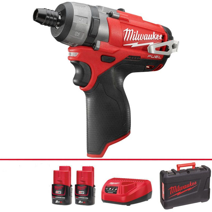 Milwaukee M12 COMPACT FUEL 2-SPEED DRIVER (M12CD-202C)