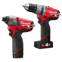 Milwaukee M12 FUEL ThunderBolt Twin Pack Kit (M12CPP2C)