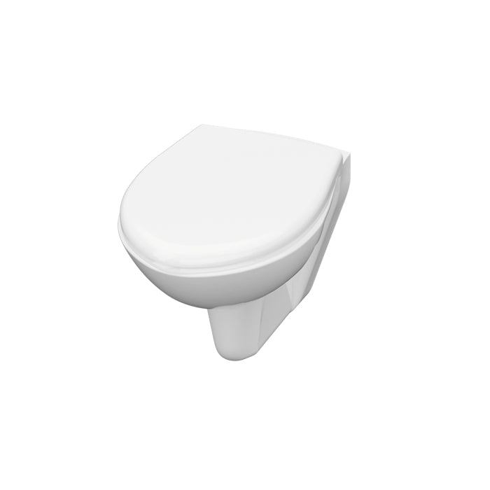 IDEVIT SAMANYLU WALL HUNG WC + SOFT CLOSE SEATCOVER