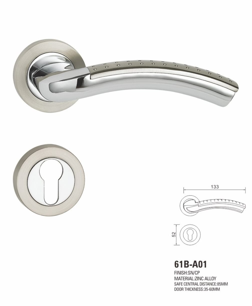 VIATRO Door Handle Zinc Alloy (F11)