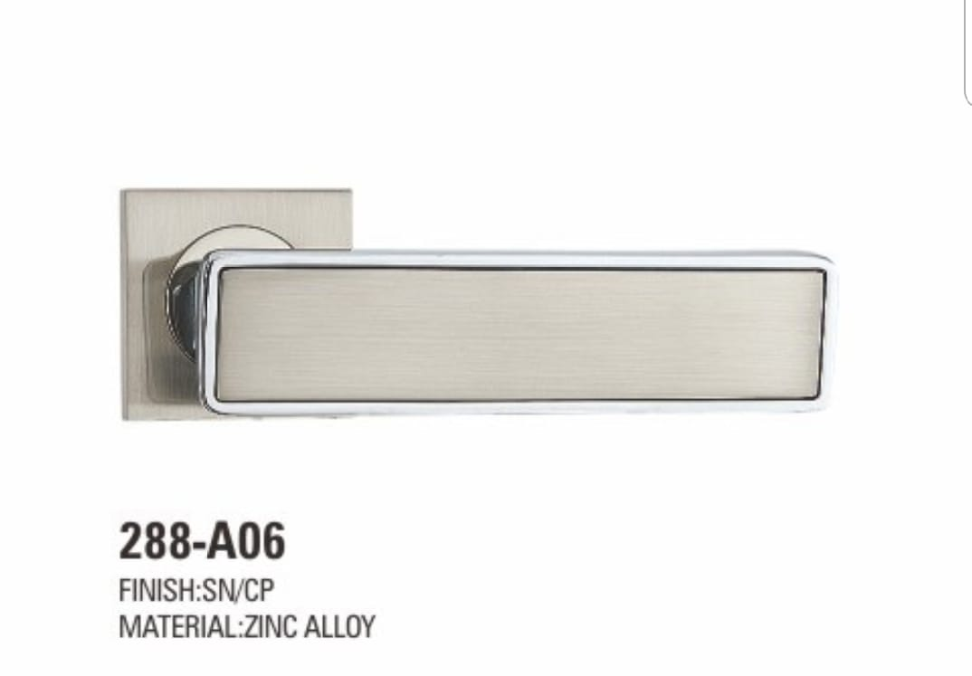 VIATRO Door Handle Zinc Allow Rosette Antique (E12)
