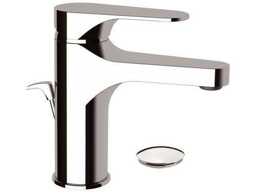 Remer Class Line Basin Mixer with Pop Up Waste (Made in Italy)