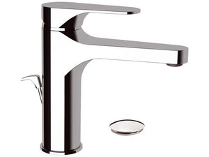 Remer Class High Basin Mixer with Pop Up Waste (Made in Italy)