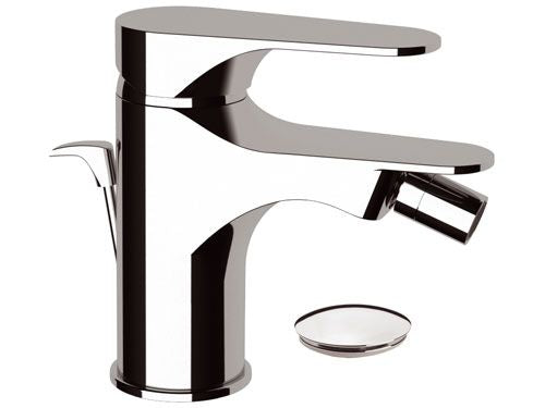 Remer Class Line Bidet Mixer with Pop Up Waste (Made in Italy)