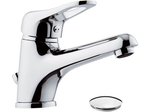 Remer Kiss Wash Basin Mixer With Long Spout (Made in Italy)