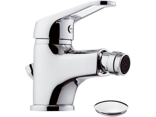 Remer Remix  Bidet Mixer With Pop-Up Waste (Made in Italy)