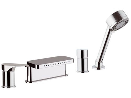 Remer CLASS Line Bath Set with Diverter (Made in Italy)