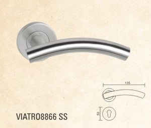 VIATRO Door Handle Stains Steel (A1)