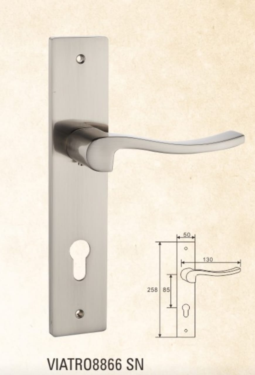 VIATRO Door Handle Zamac with Plat (C2)