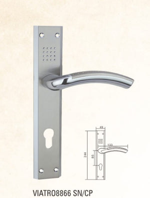 VIATRO Door Handle Zamac with Plat (C3)