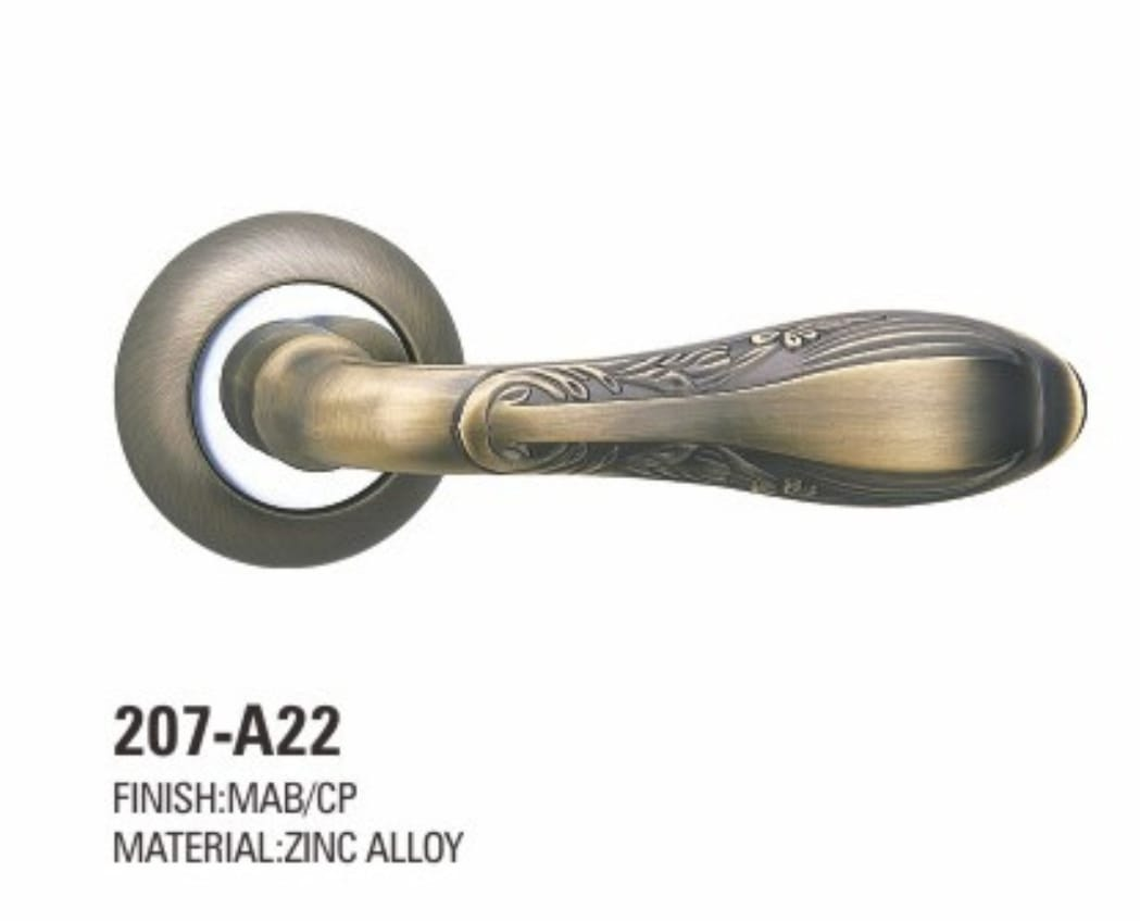 VIATRO Door Handle Zinc Allow Rosette (D3)