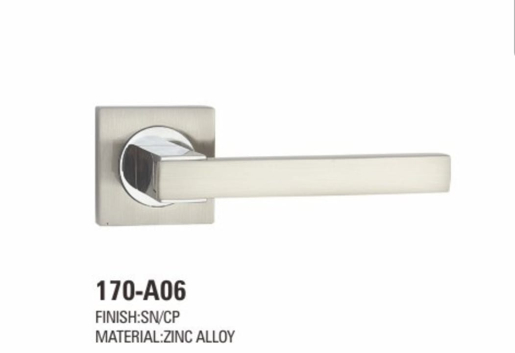 VIATRO Door Handle Zinc Allow Rosette (D5)