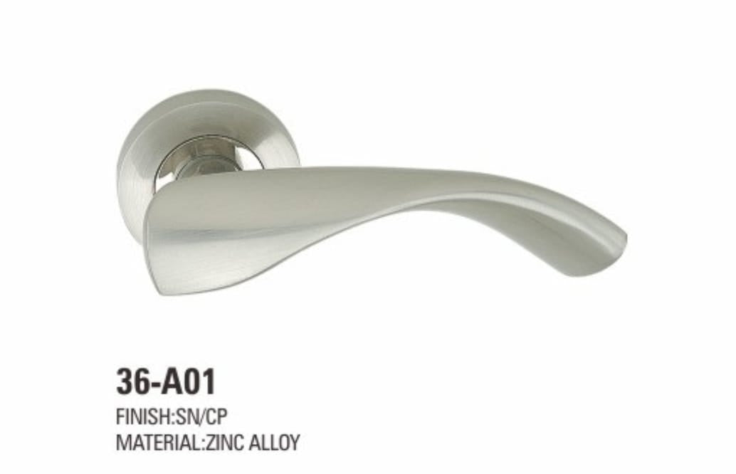 VIATRO Door Handle Zinc Alloy (F6)