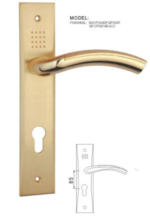 VIATRO LEVER HANDLE ON PLATE (G6)