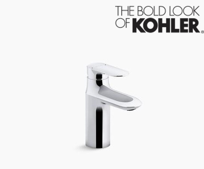 KOHLER Medium single-lever washbasin mixer, comfort height