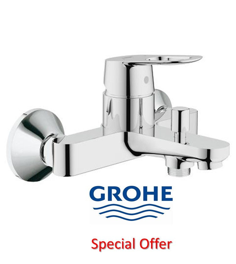 GROHE BAULOOP OHM BATH MIXER CHROME
