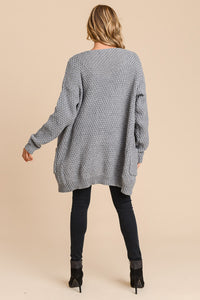 CADENCE Twisted Front Cardigan