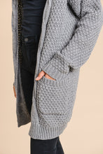 Load image into Gallery viewer, CADENCE Twisted Front Cardigan