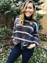 Load image into Gallery viewer, PEYTON Cozy Striped Sweater