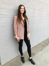 Load image into Gallery viewer, LOTTIE Gingham Blazer