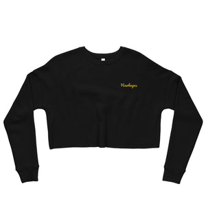 Collegiate Hawkeyes Crop Sweatshirt