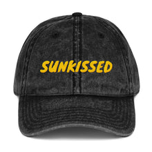 Load image into Gallery viewer, Sunkissed Vintage Denim Cap
