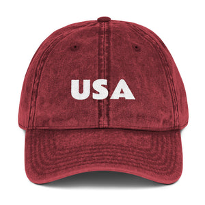 USA Vintage Denim Cap
