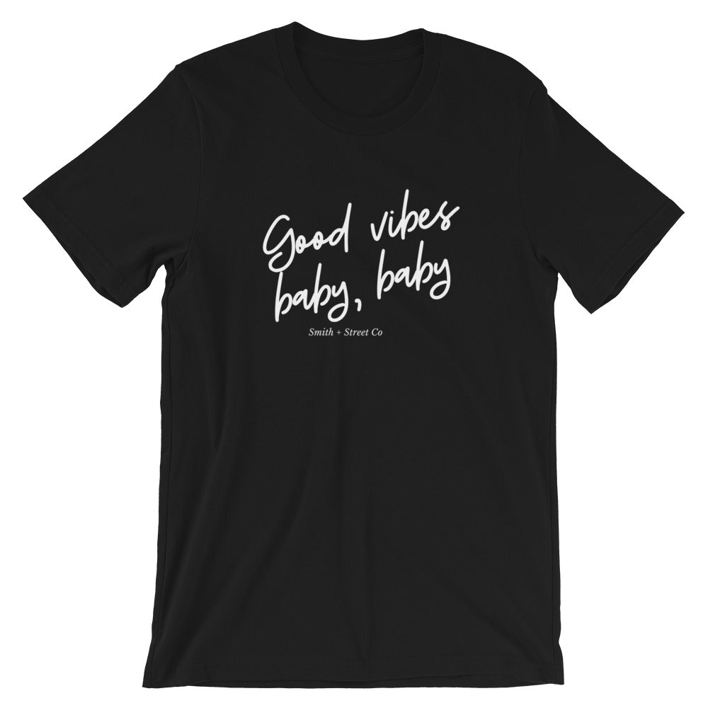 Good Vibes Baby Baby Tee