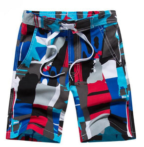 Boys Beach Shorts Fashion Children Board Shorts Summer 2018 Kids Surf Swimwear 7-15Yrs Cotton Beach Pants Child Swimming Trunks