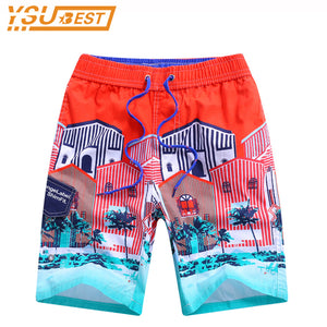 Kid Beach Surf Swimwear Child Board Shorts New 2018 Summer Exercise Children Boys Shorts Board Shorts 7-15yrs Boys Casual Shorts