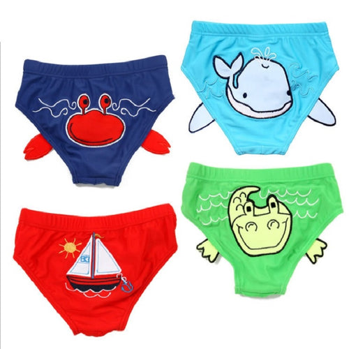 2018 Summer Baby Boys Swimsuit Kid Swim Trunks Children Swimwear Animal Baby swimming trunks Infant swim diaper bikini tankini