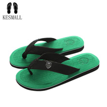 Load image into Gallery viewer, KESMALL New Arrival Summer Men Flip Flops High Quality Beach Sandals Non-slide Male Slippers Zapatos Hombre Casual Shoes A10