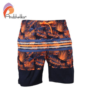 Andzhelika Trunks Men's Sports Swimsuit M-3XL Swim Briefs Bikini Sexy Swim Underwear Men Trunks Surf Board Shorts Suits AK3705