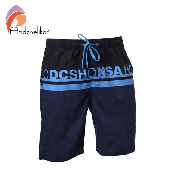 Andzhelika Swimwear Men New Letter Swim Shorts Surf Wear Summer Sport Swimsuit Trunks Men's Board Shorts Beach Wear AK3703