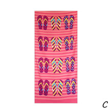Load image into Gallery viewer, Square Beach Towel Sand Beach Flag Printed Beach Cover Up Bikini