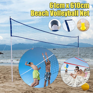 Outdooors Beach Volleyball Set Professional Volleyball Competition Accessories Training Volleyball Net Volleyball Frame