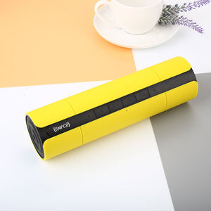 KR8800 Portable Waterproof HIFI Super Bass Bluetooth Stereo Speaker AUX